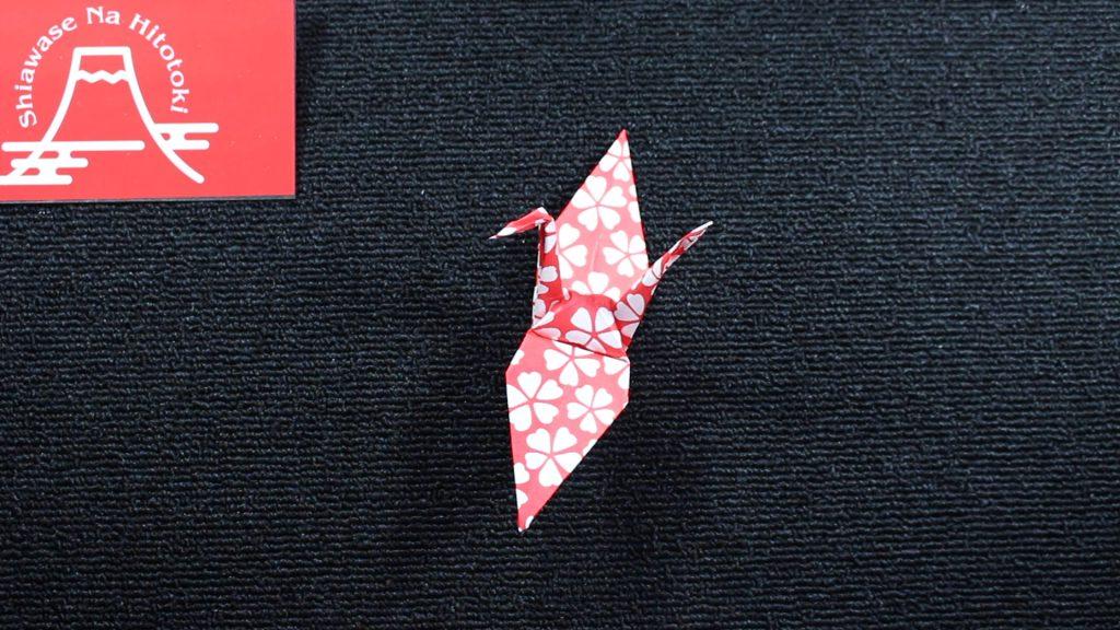 【簡単!折り紙】鶴の折り方 ちょっと難しいですが基本の折り紙です
