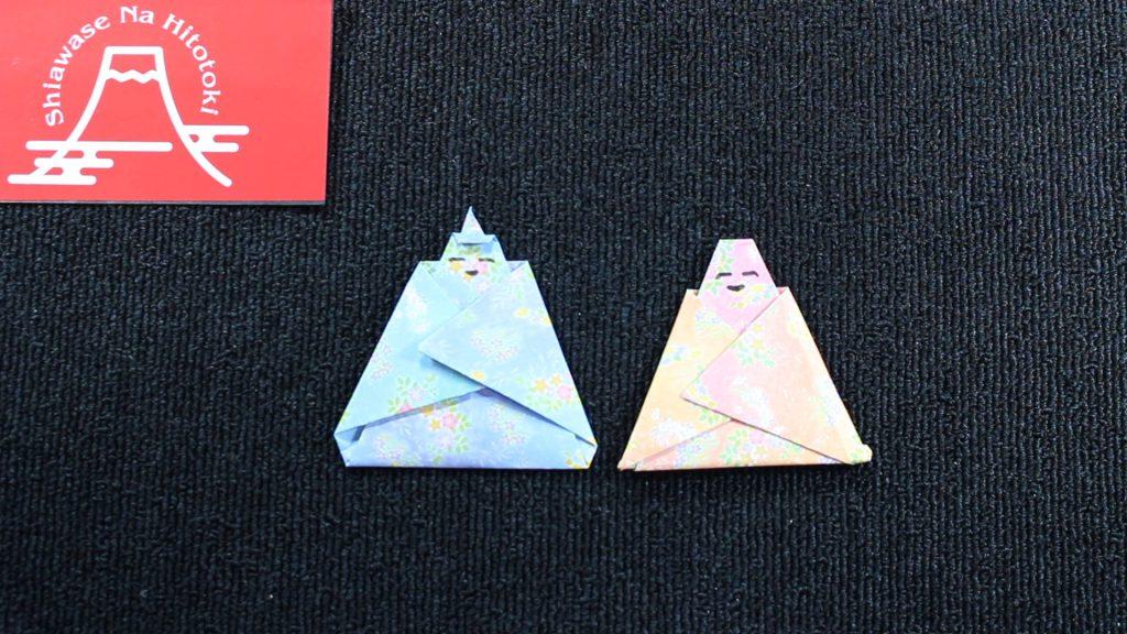 【簡単!折り紙】ひな人形お雛様の折り方